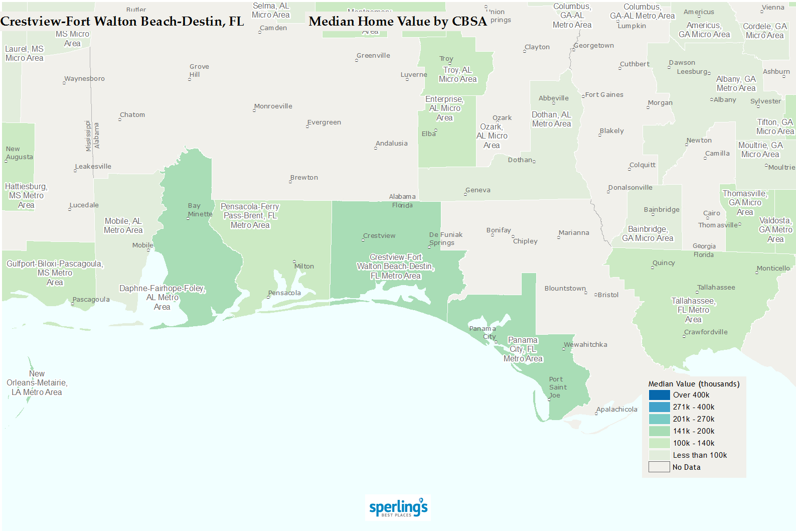 Best Places To Live   Compare Cost Of Living, Crime, Cities, Schools - Niceville Florida Map