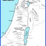 Bible Maps: Palestine At The Time Of Jesus 33 Ad   Printable Bible Maps