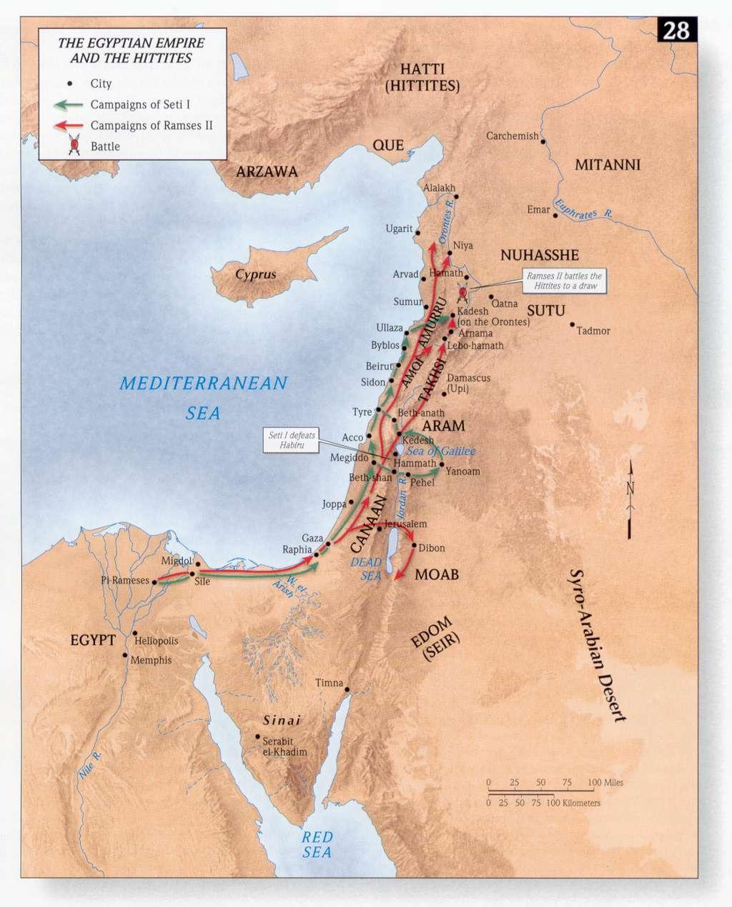 Bible Maps | Precept Austin - Printable Bible Maps