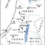 Biblical Map Of Israel | Flygaytube   Printable Bible Maps