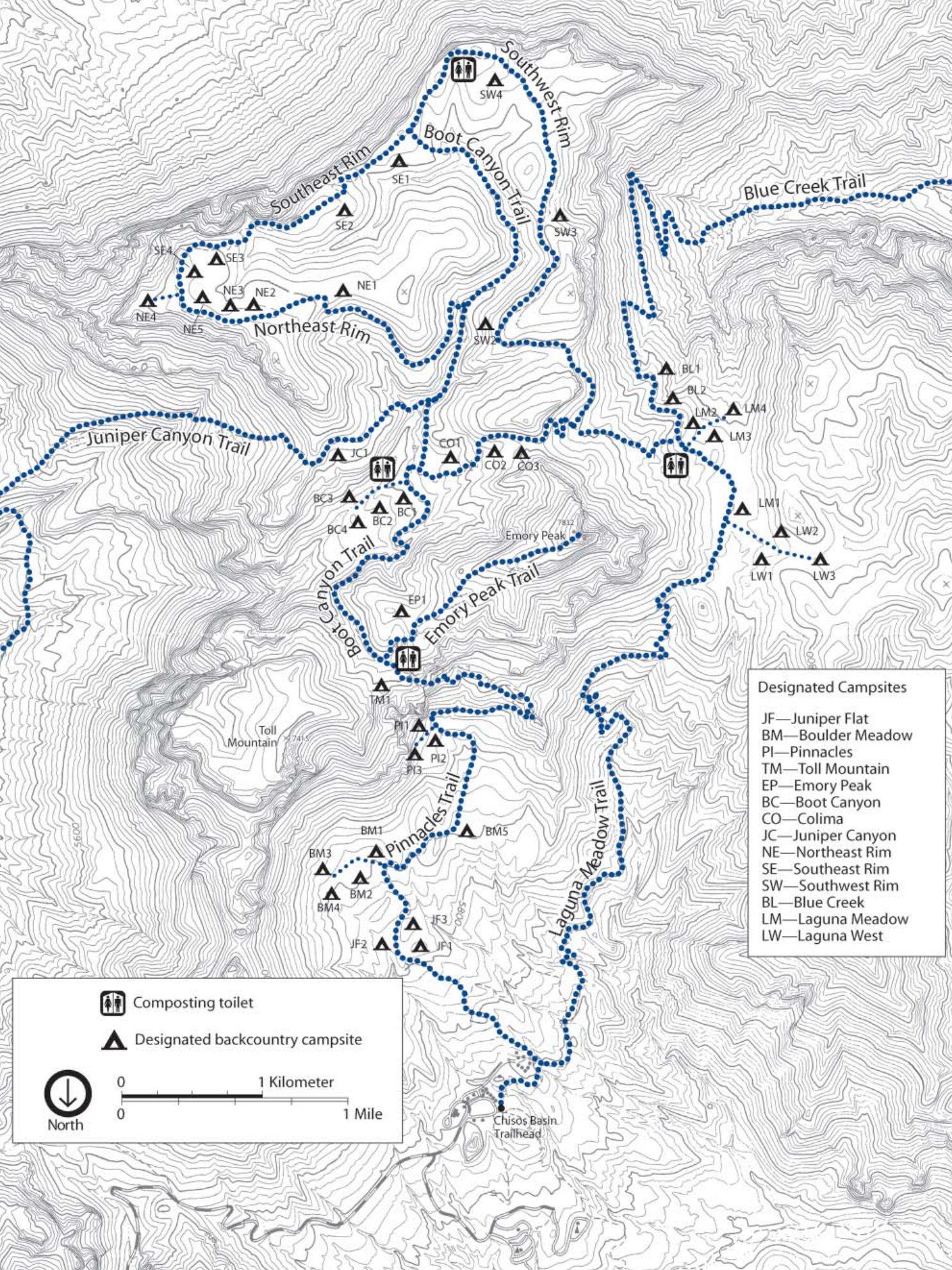 Big Bend Maps   Npmaps - Just Free Maps, Period. - Map Of Big Bend Area Texas
