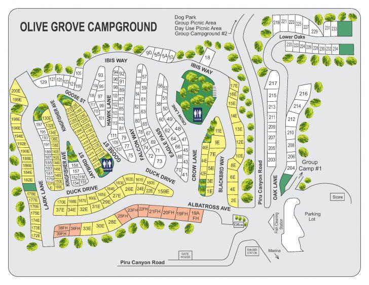California Campgrounds Map