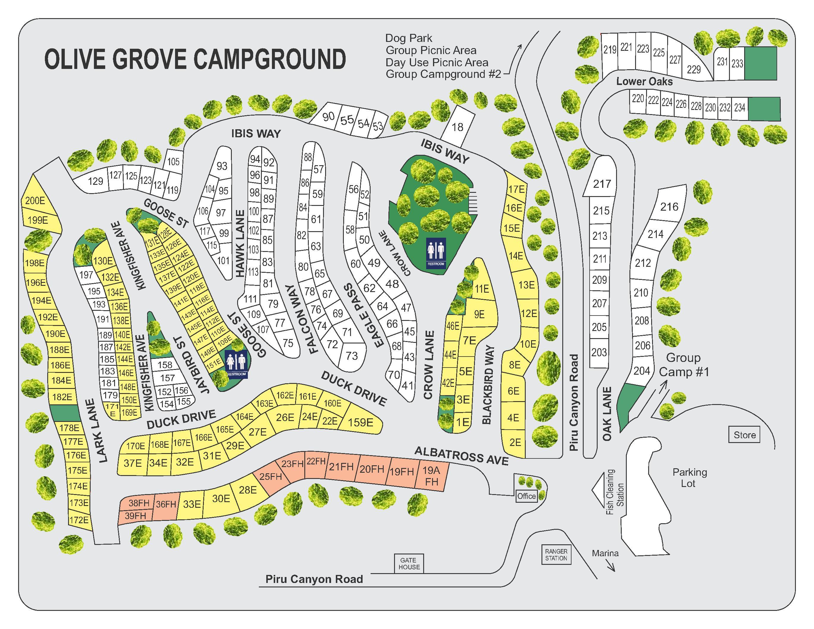 Big Sur Pyramid Lake Isabella California Camping New Map - Touran - California Camping Sites Map