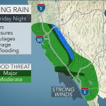 Biggest Storm Of Winter' To Unleash Flooding Rain In California Into   California Coast Weather Map