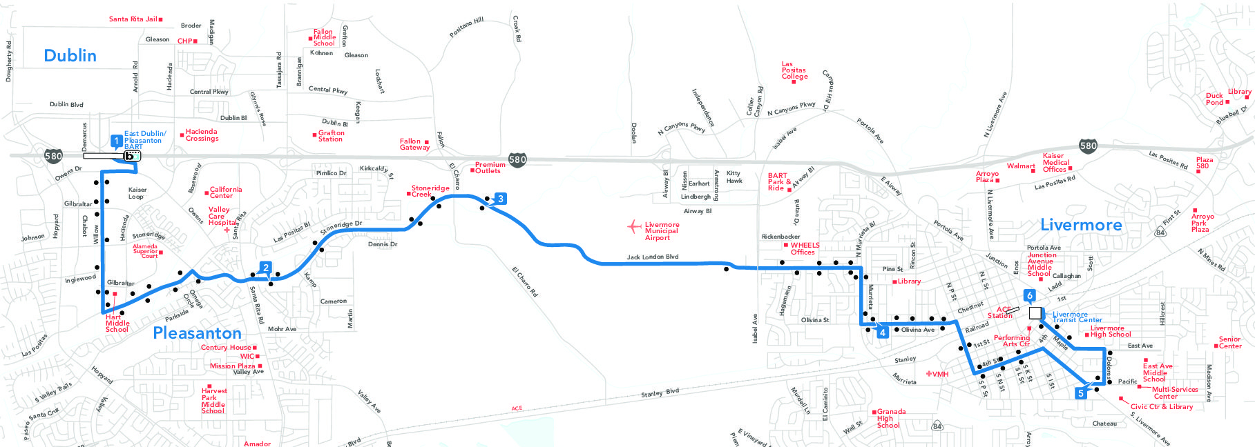 Bike Lanes Trails Map Dublin Ca Official Website In California - Map Of Dublin California Area