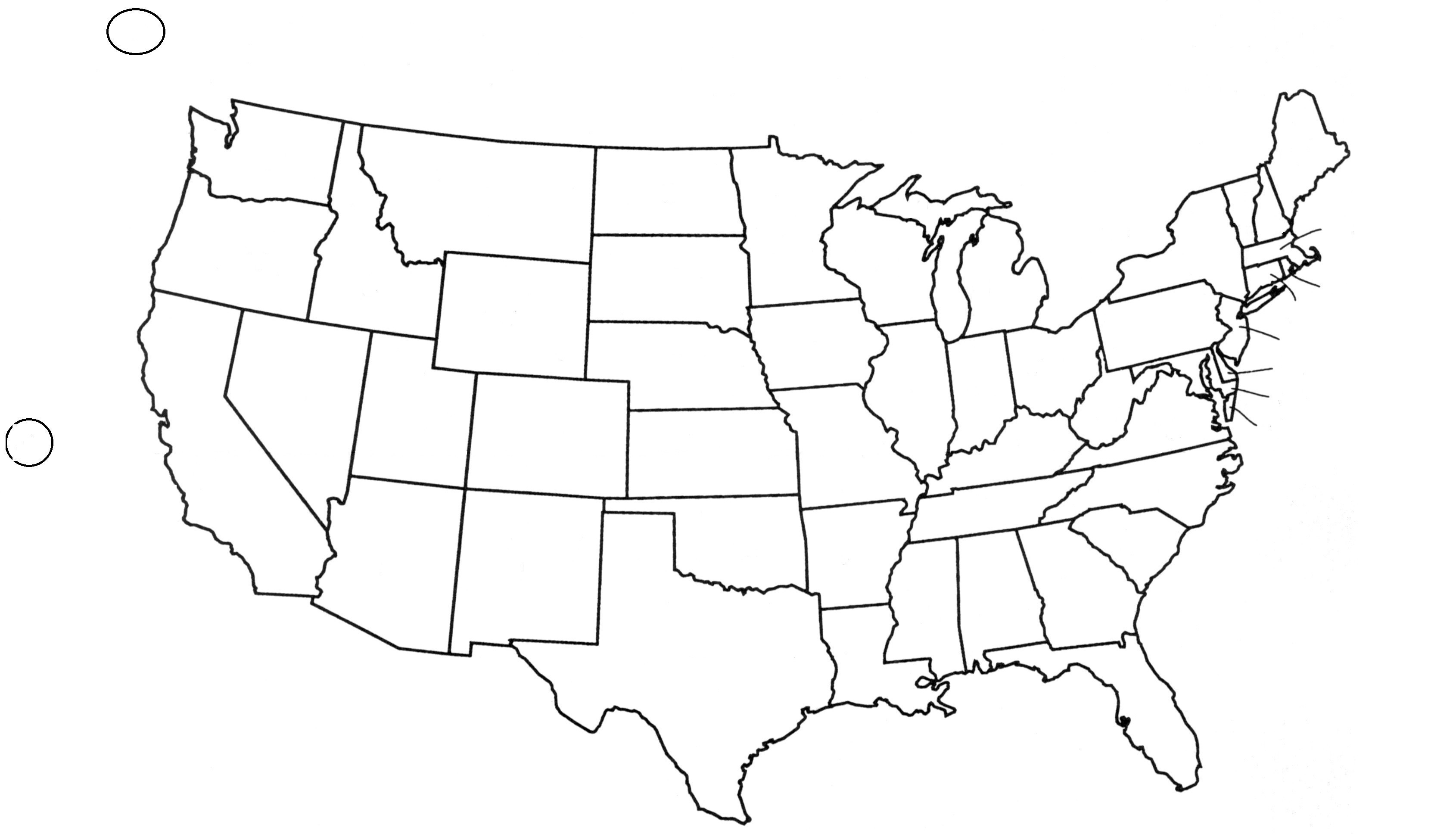 Black And White Map Us States Usa50Statebwtext Awesome Best Blank Us - Blank Us Map Printable