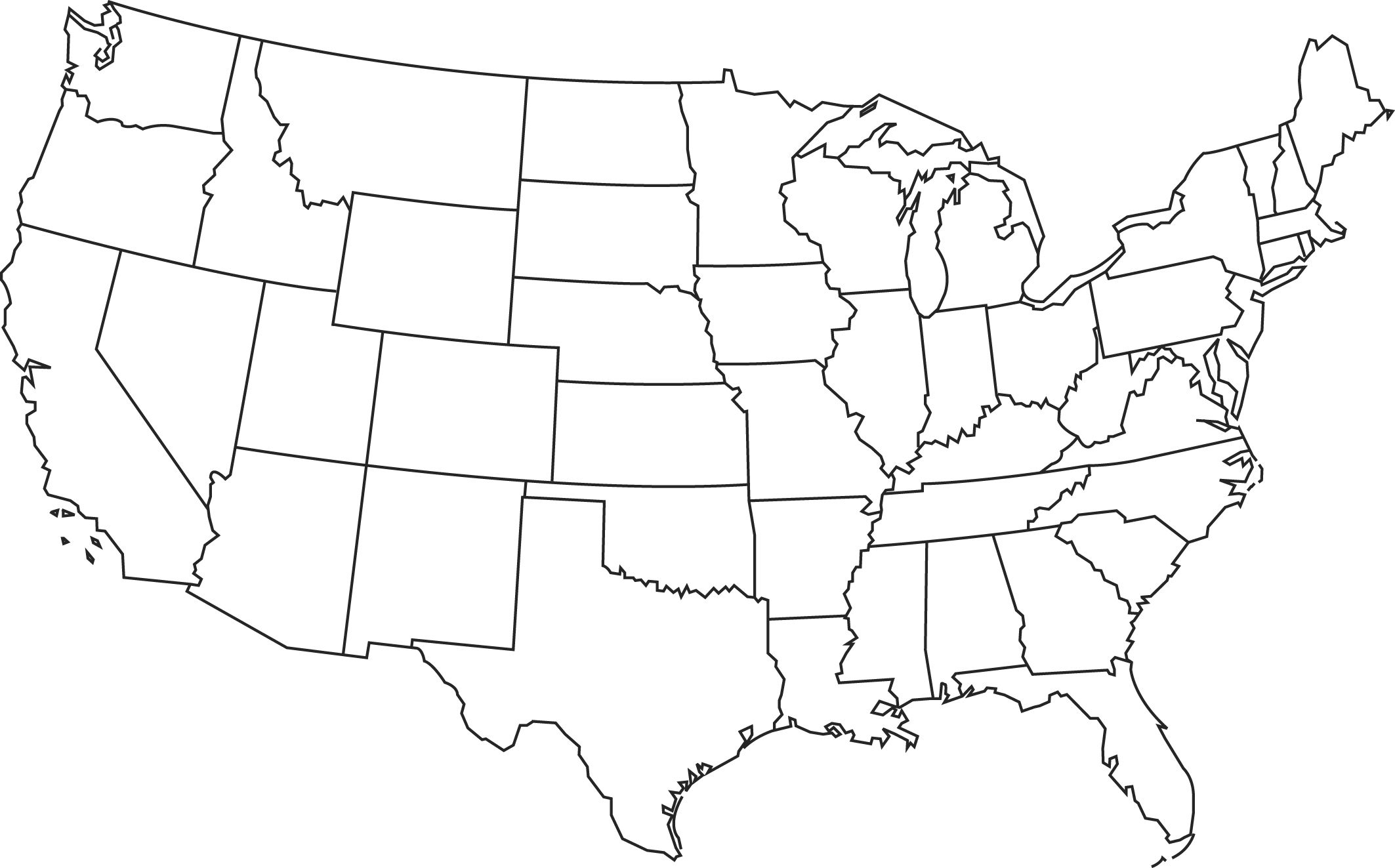 Blank Printable Map Of The Us Clipart Best Clipart Best | Centers - Printable Picture Of United States Map