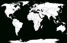 Blank World Map Worksheet ~ Afp Cv – Printable World Map