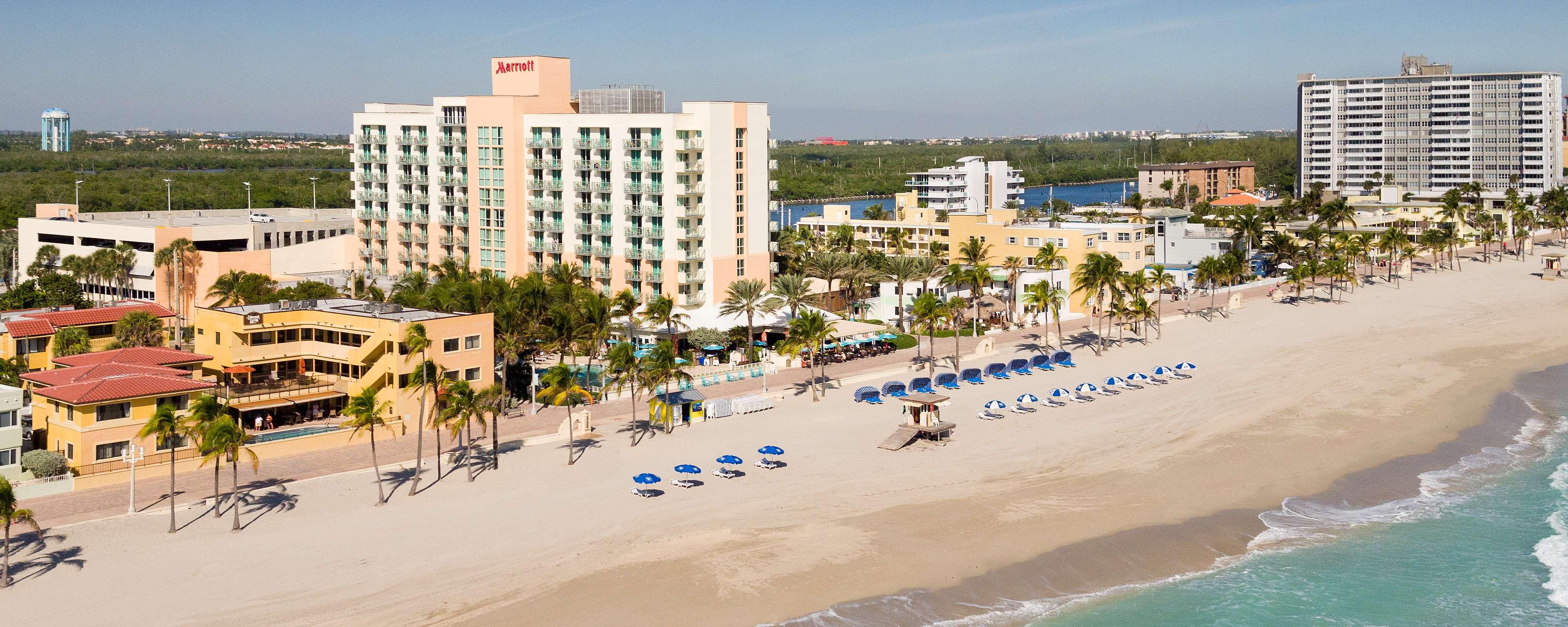 Boardwalk Hotel In Hollywood Beach, Fl | Hollywood Beach Marriott - Map Of Hotels In Hollywood Florida