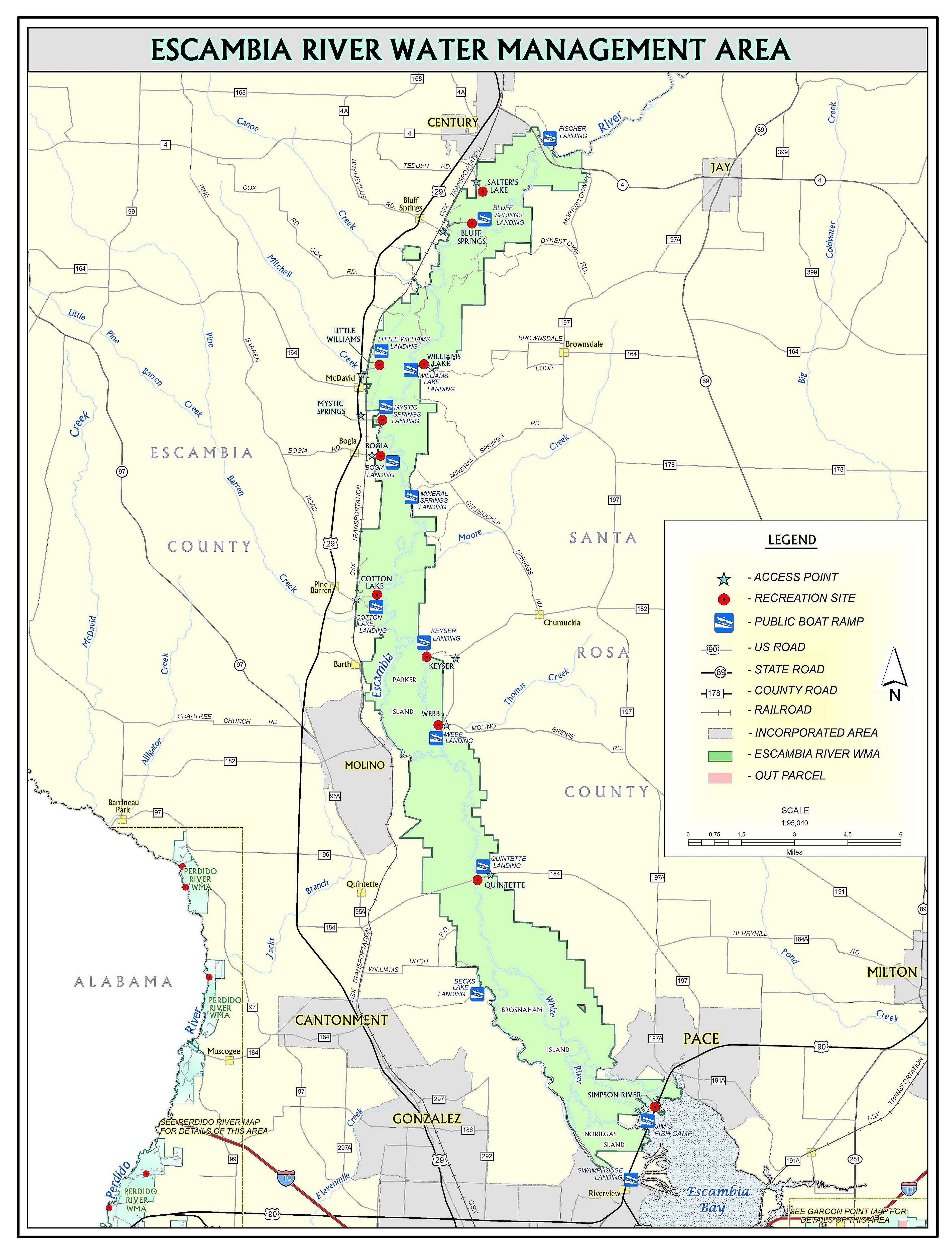 Bogia | Northwest Florida Water Management District - Northwest Florida Water Management District Map