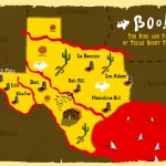 Boo: The Rise And Fall Of Texas Ghost Towns | Texas Standard   Texas Ghost Towns Map