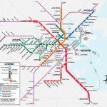 Boston T Map   Free Printable Maps   Printable Map Of Boston