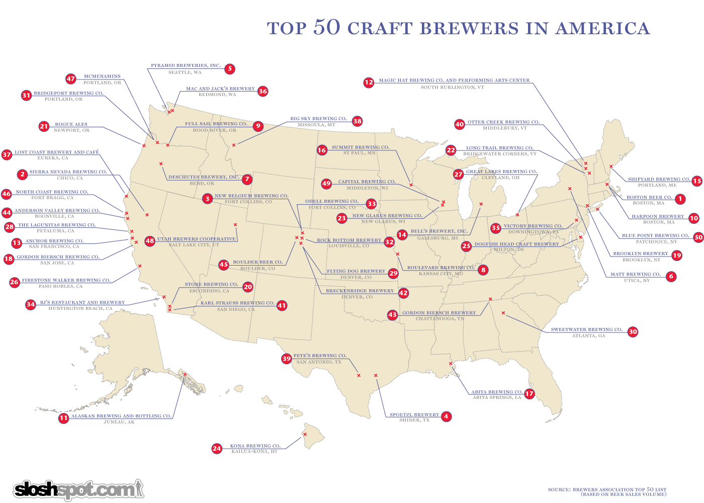 Brewers Map The Brew Babes Beer Blog Within California Brewery - California Beer Map