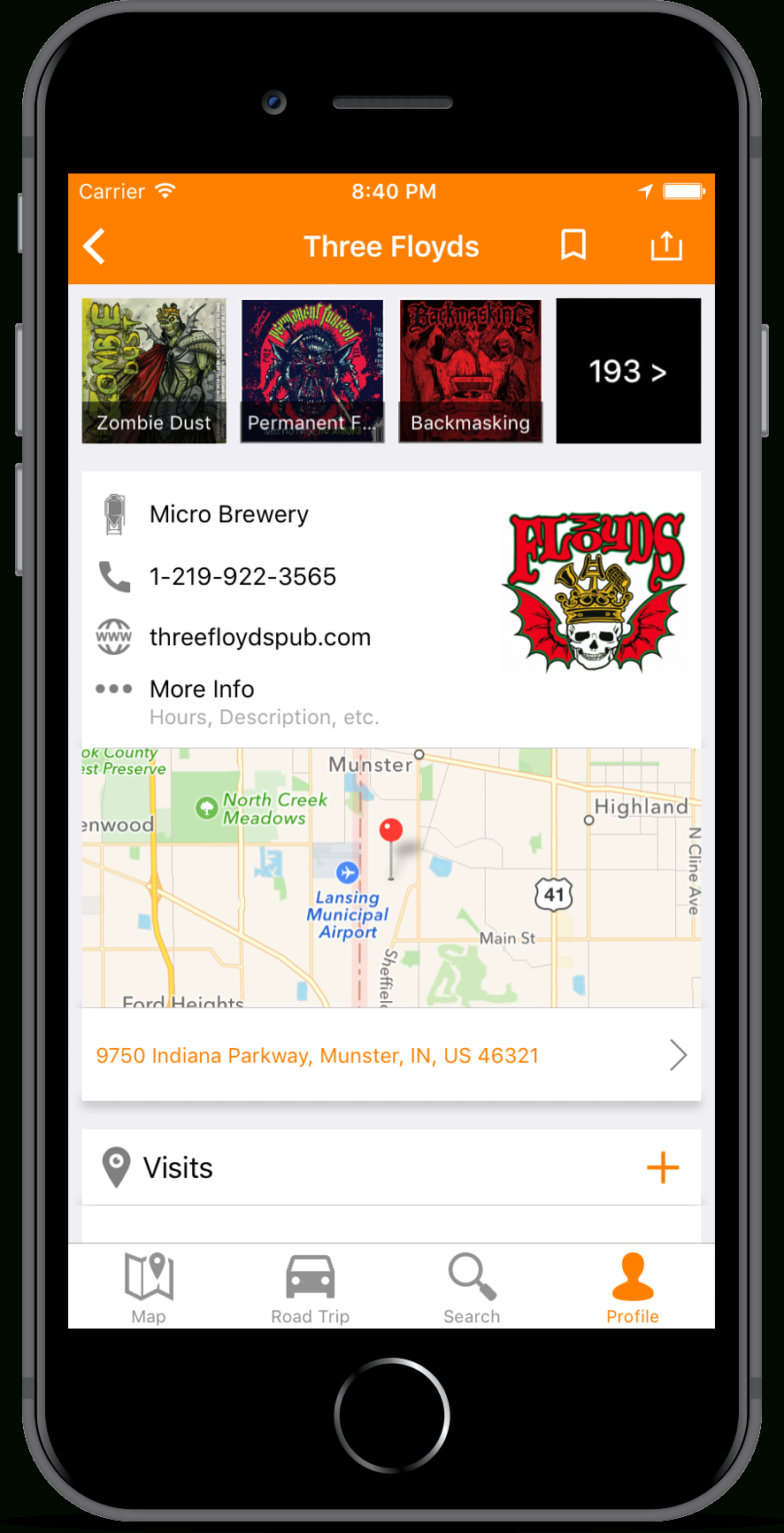 Brewerymap : Brewerydb - Florida Brewery Map