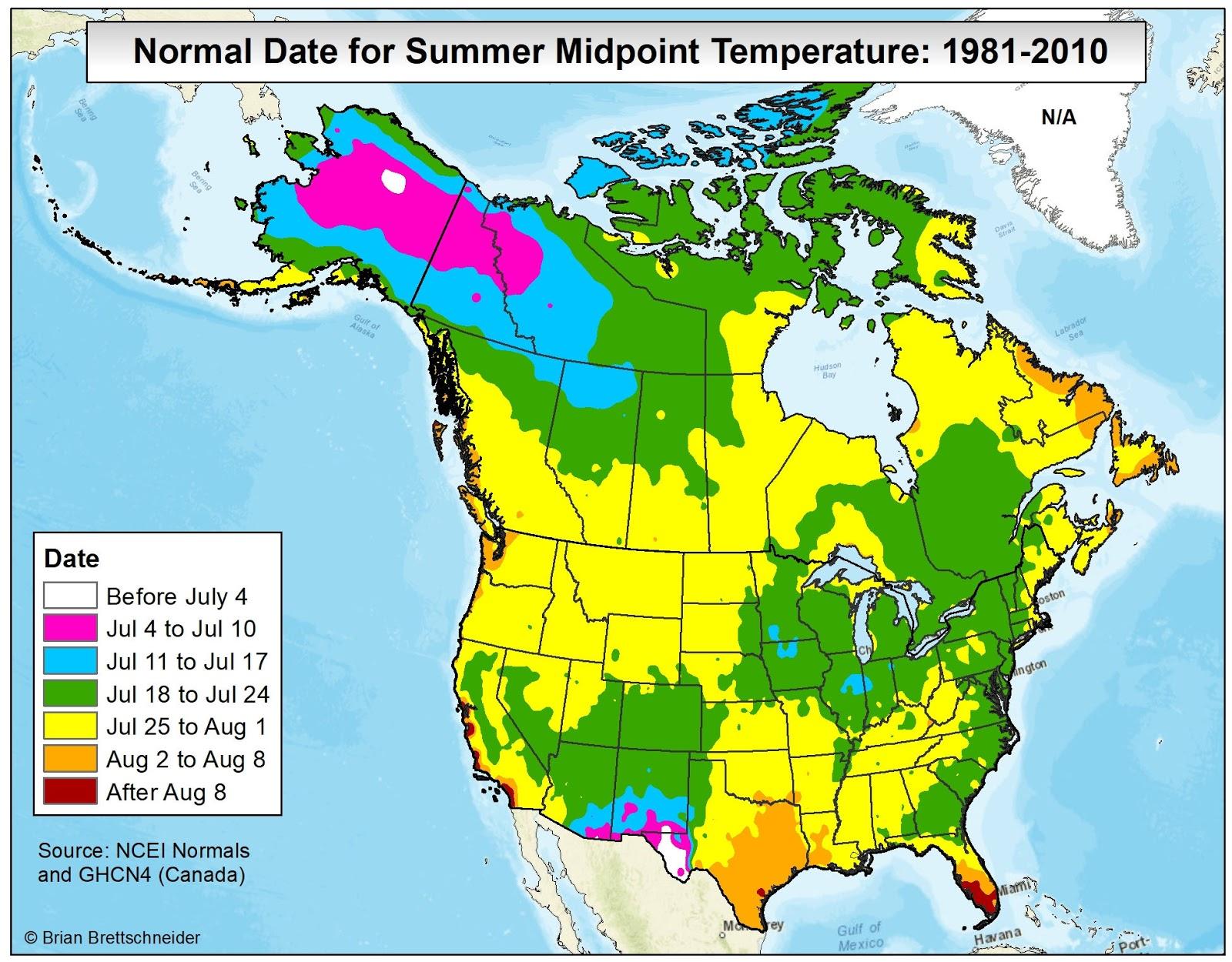 Brian B's Climate Blog: Average Annual High Temperature Vs. Climate - Texas Temperature Map