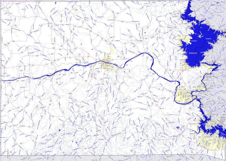 Llano Texas Map