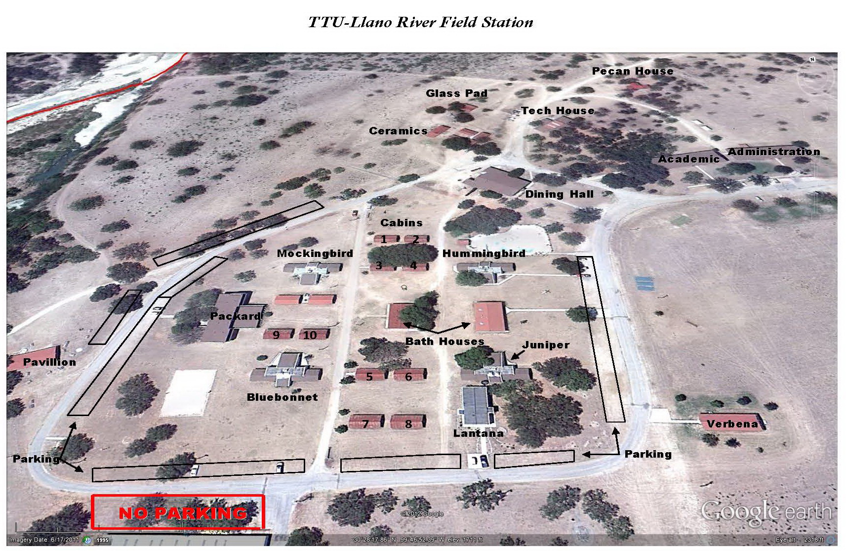 Bright Idea Junction Texas Map Campus Ttu Center At - World Maps - Junction Texas Map