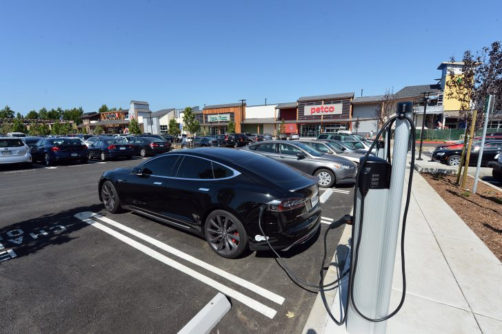 California Electric Car Charging Stations Map