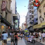 Buenos Aires Photos, Places And Hotels — Gotravelaz   Florida Street Buenos Aires Map