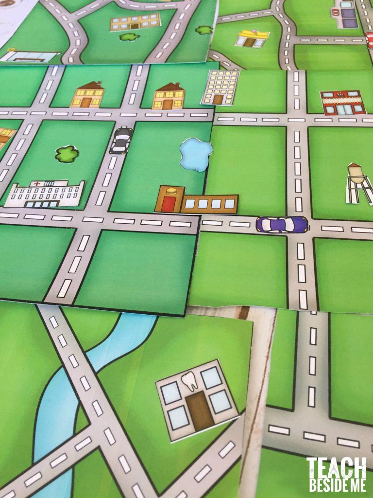 Build A City Map – Printable Geography Set – Teach Beside Me - Create Printable Map