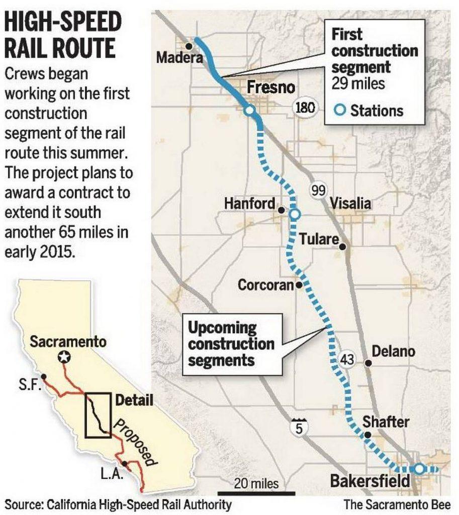 Bullet Train California Map - Klipy - California Bullet Train Map
