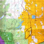 Buy And Find California Maps: Bureau Of Land Management: Southern   California D8 Hunting Zone Map