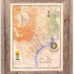 Buy Texas Revolution Map 1836 Large Framed   Republic Of Texas   Framed Texas Map