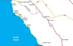 Ca Central Coast Map Reference Map Of Central California Coastal – Central California Beaches Map