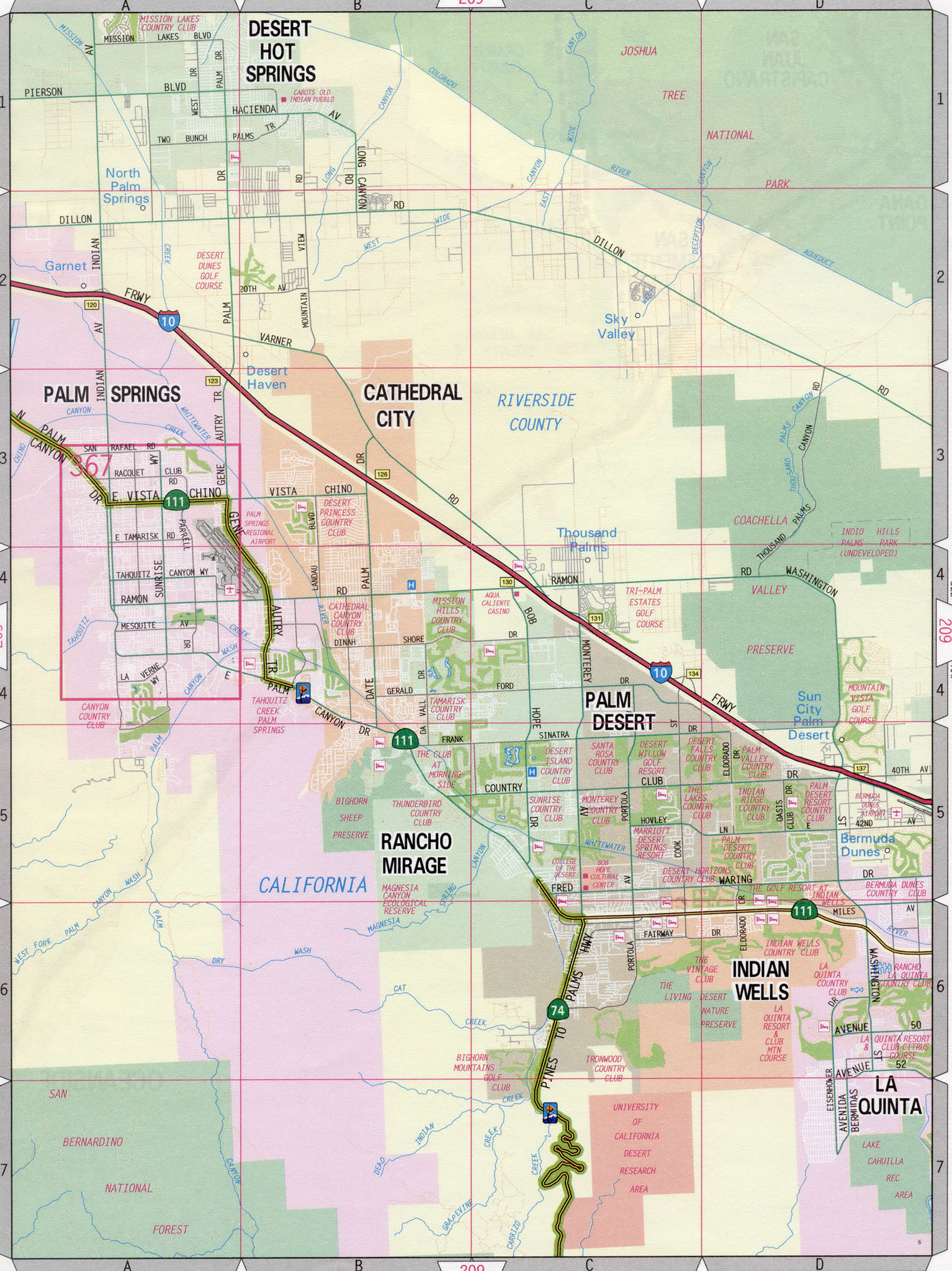 Ca Map Outline Indian Wells California Map - Klipy - Indian Wells California Map
