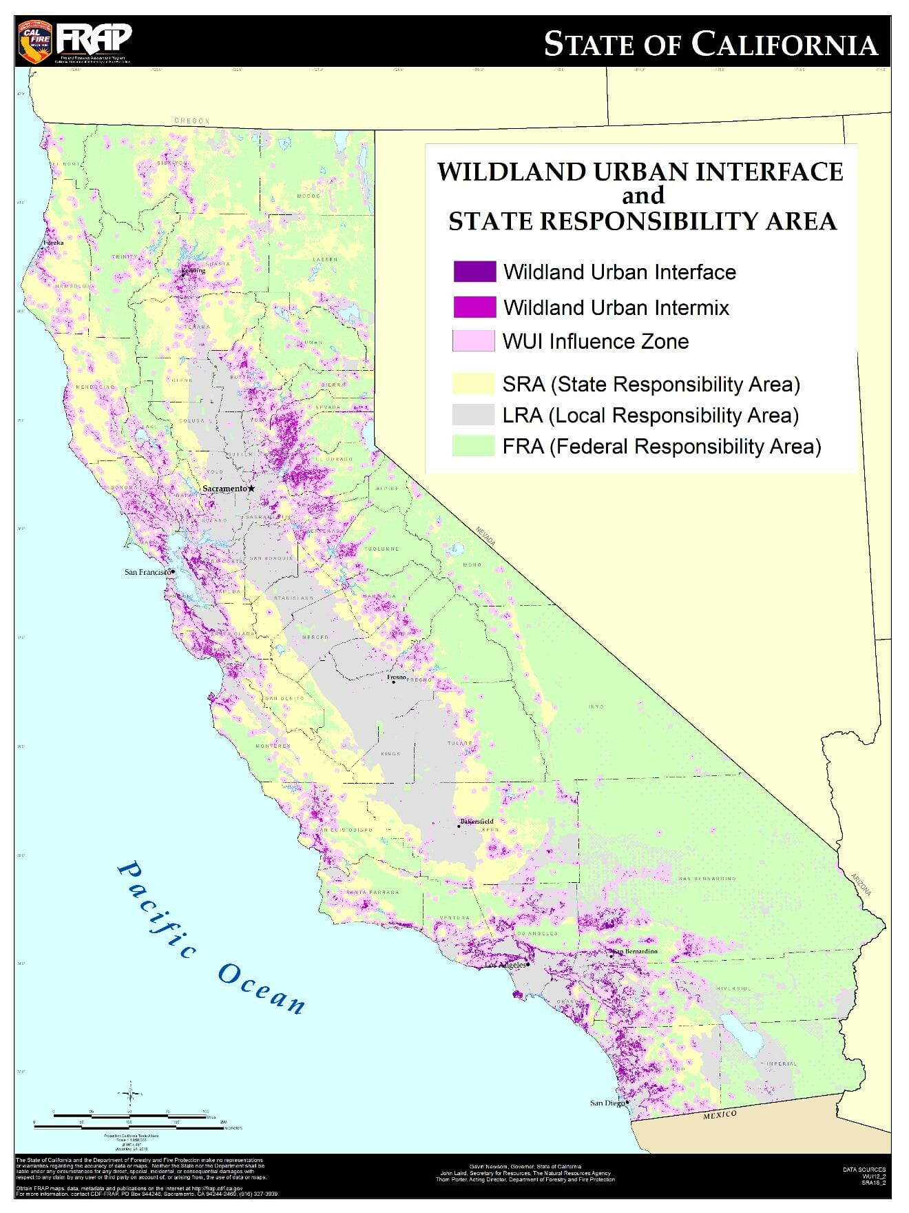 Cal Fire Submits Report On Protecting Vulnerable Communities From - California Fire Zone Map