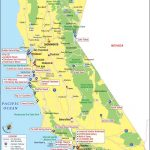 California Attractions, Things To Do In California And Places To Visit   California Things To Do Map