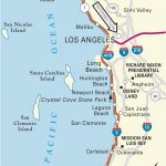 California Coast Attractions Map Map San Clemente California Klipy   San Clemente California Map