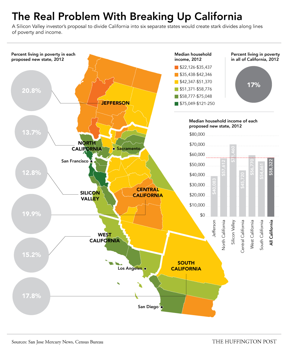 California Cost Of Living Map - Klipy - California Cost Of Living Map