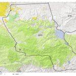 California Deer Hunting Zone D13 Map   Huntdata Llc   Avenza Maps   Map Of Hunting Zones In California