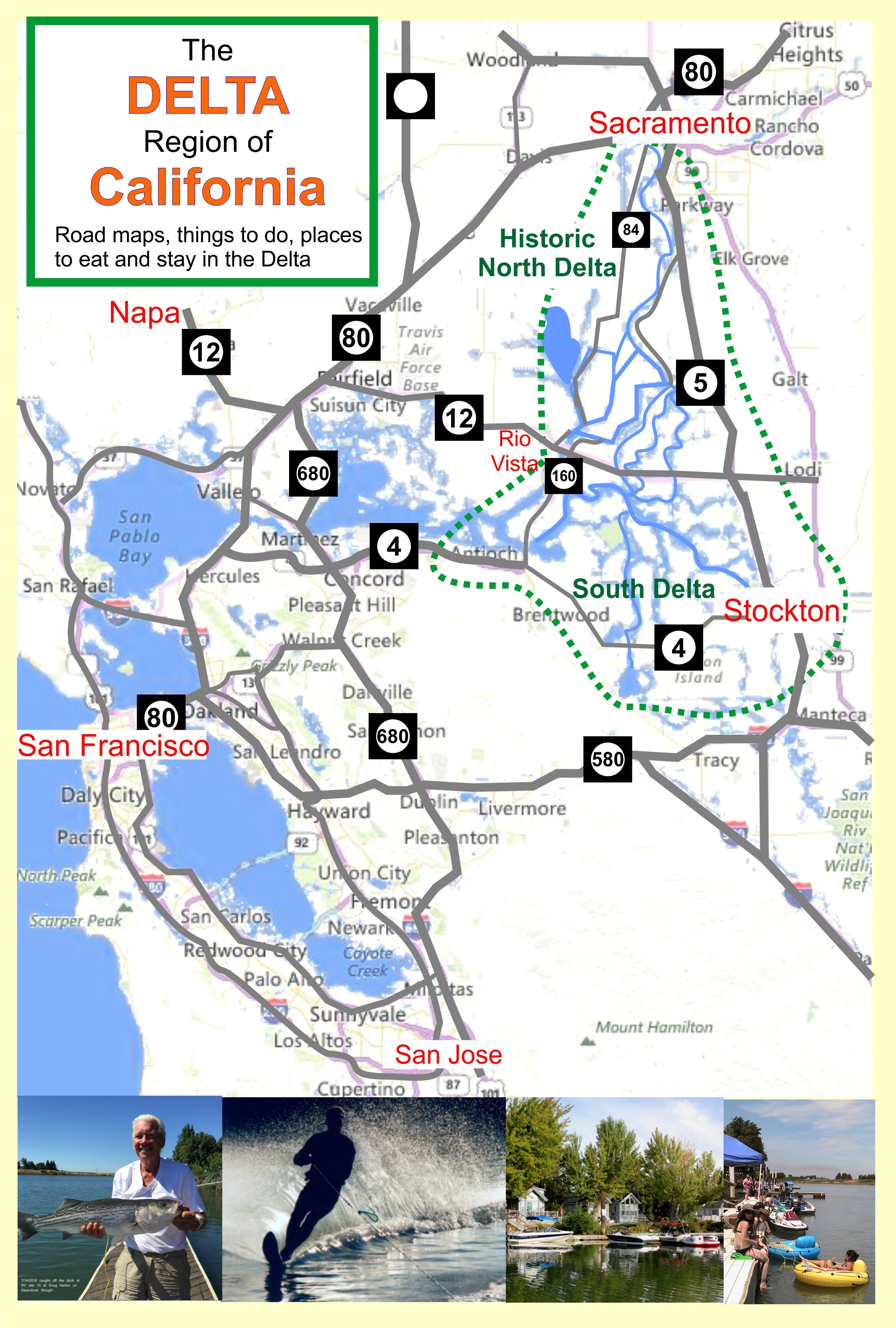California Delta Map Fishing - Klipy - California Delta Bass Fishing Map