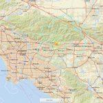 California Earthquake Today: 4.4 Magnitude Hits La Verne, Shakes Los   Valencia California Map