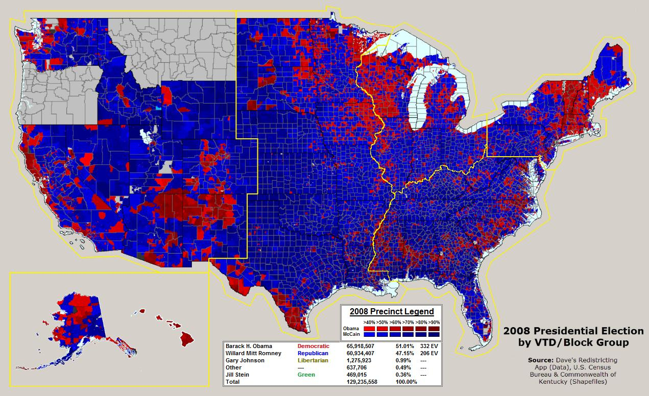 California Election Results Map - Klipy - California Voting Precinct Map