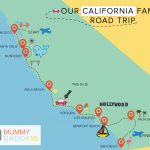 California Family Road California State Map Palm Spring California   Where Is Palm Springs California On A Map