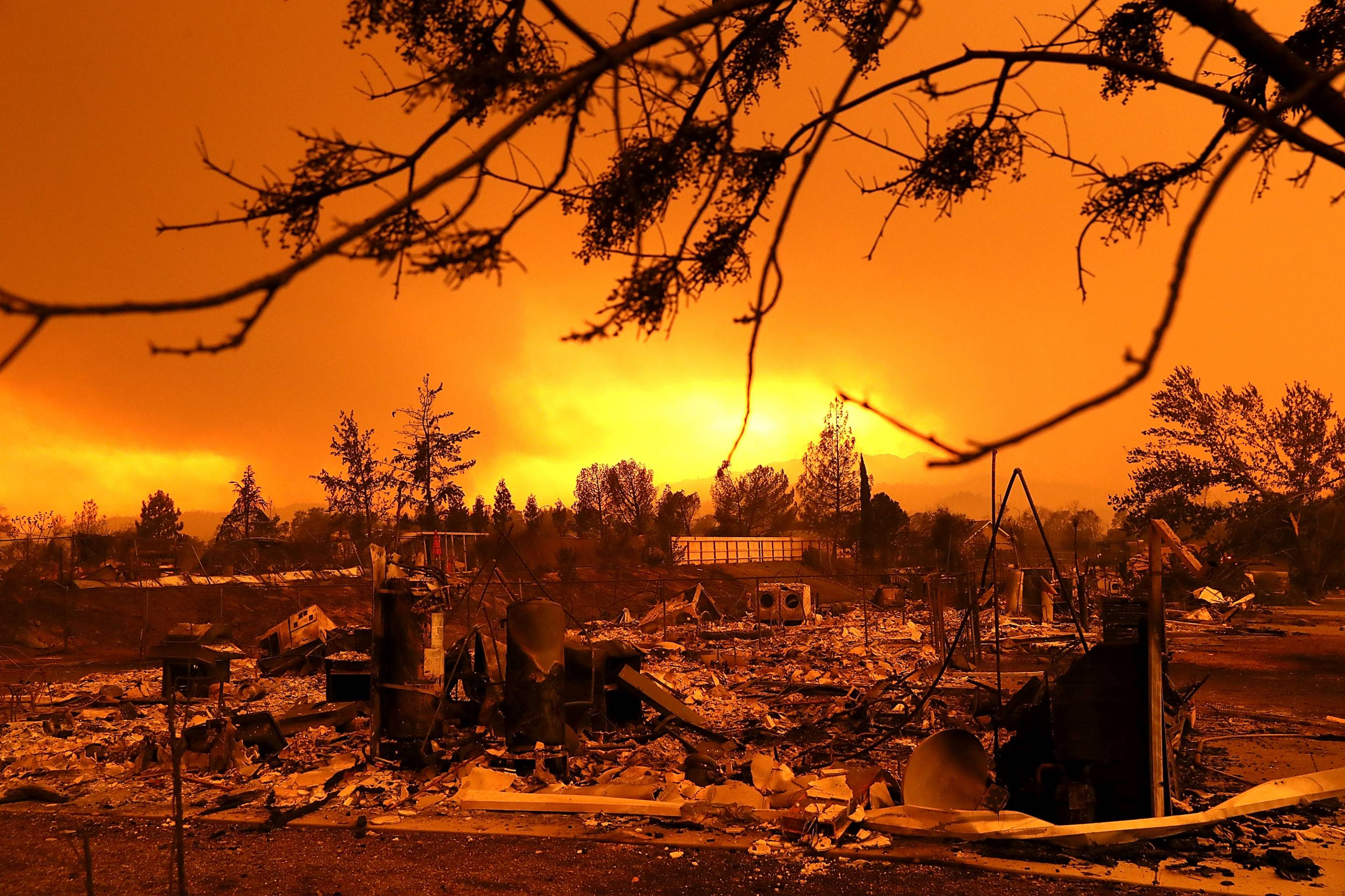California Fires Map: Get The Latest Updates From Google | Fortune - Map Of Current Forest Fires In California