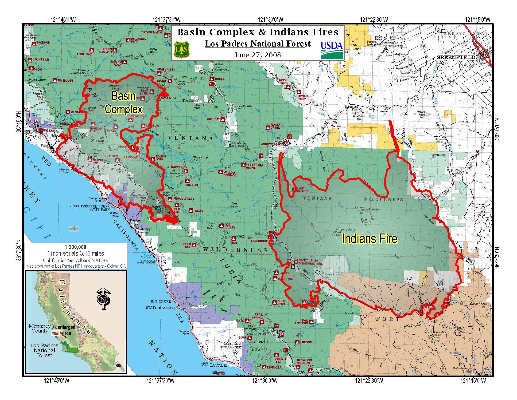 California Fires Update Map - Klipy - California Fires Update Map
