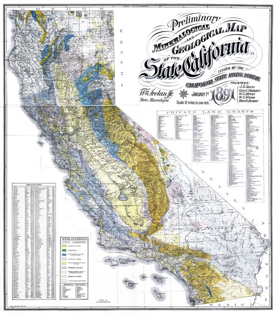 California Gold Claims Map - Klipy - California Gold Claims Map