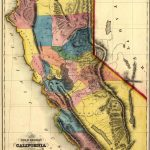 """California Gold Map ~ """"gold Mines And Mining. Gibbes' New Map Of   California Gold Mines Map"""