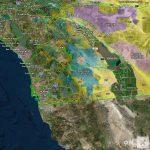 California Hunt Zone D16 Deer   Map Of Hunting Zones In California