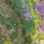 California Hunt Zone D8 Deer   California D8 Hunting Zone Map