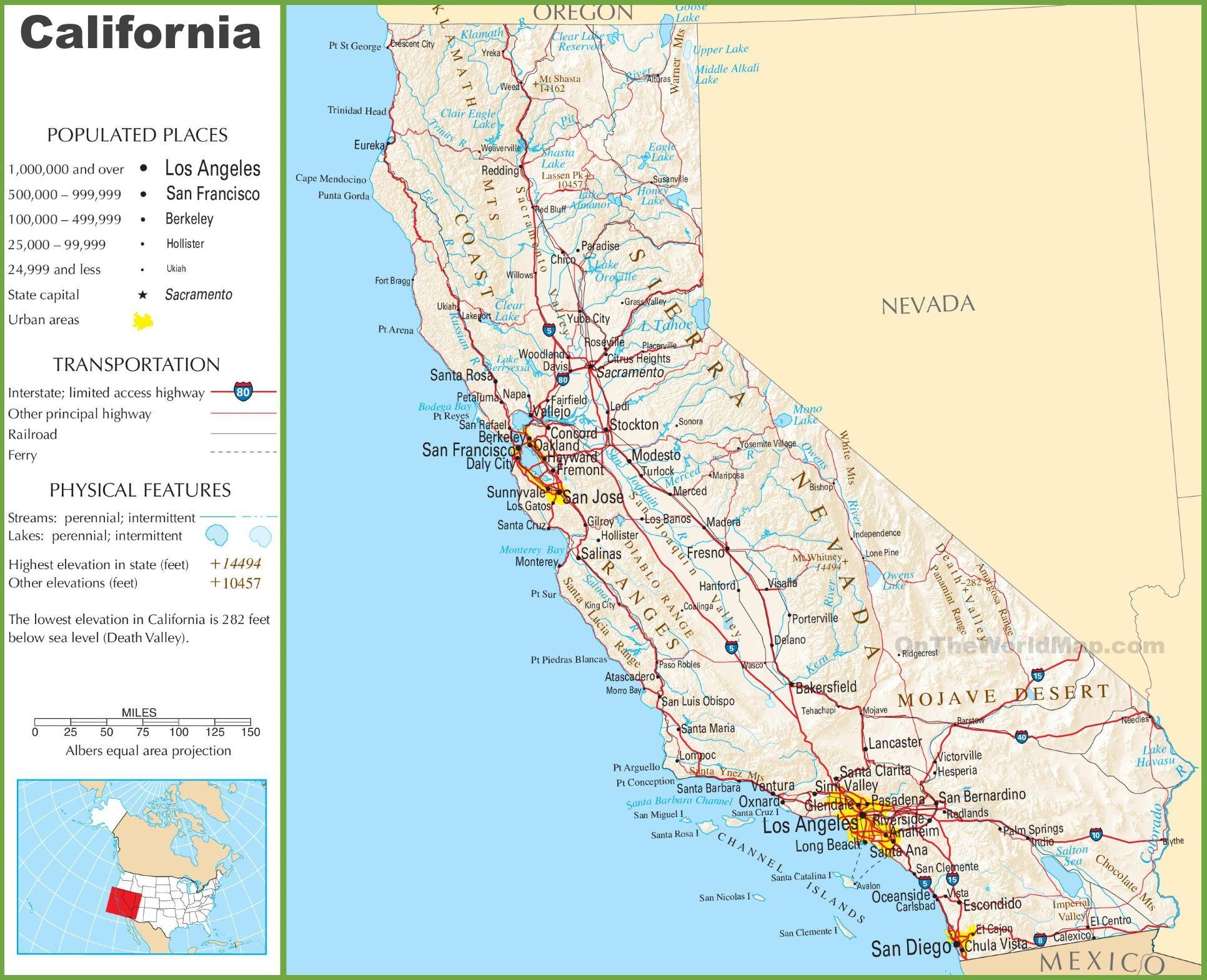 California Itinerary Hermosa Beach Venice Beach Santa Monica Pier - Hermosa Beach California Map