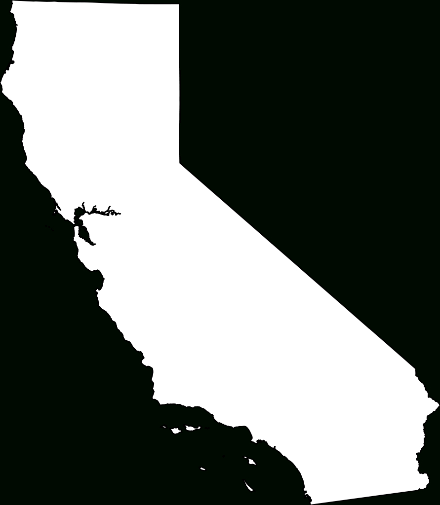 California Map Png Transparent California Map Images.   Pluspng - California Map Black And White