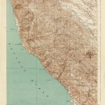 California Map With Cities Southern California Topographic Map New   Topo Map Of California
