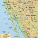California Mexico Connectivity Map Valid Maps Map Of California   Map Of California Coast Cities