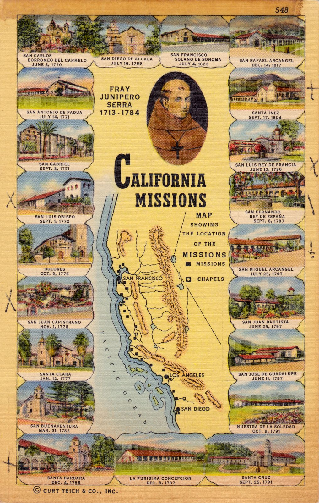 California Missions | Bay Area | Pinterest | California Missions - Southern California Missions Map