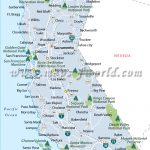 California National Parks Map, List Of National Parks In California   National And State Parks In California Map